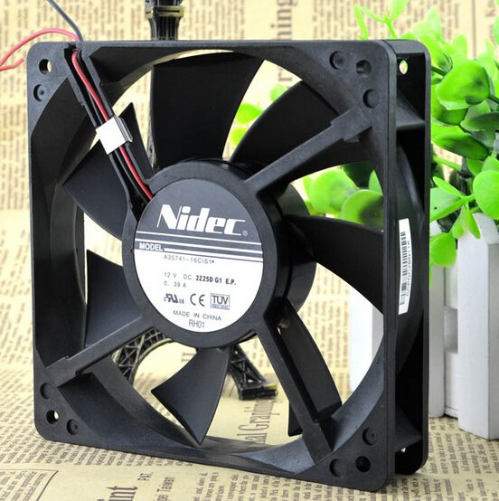 NIDEC A35741-16CIS1 DC12V 0.39A dual ball cooling fan