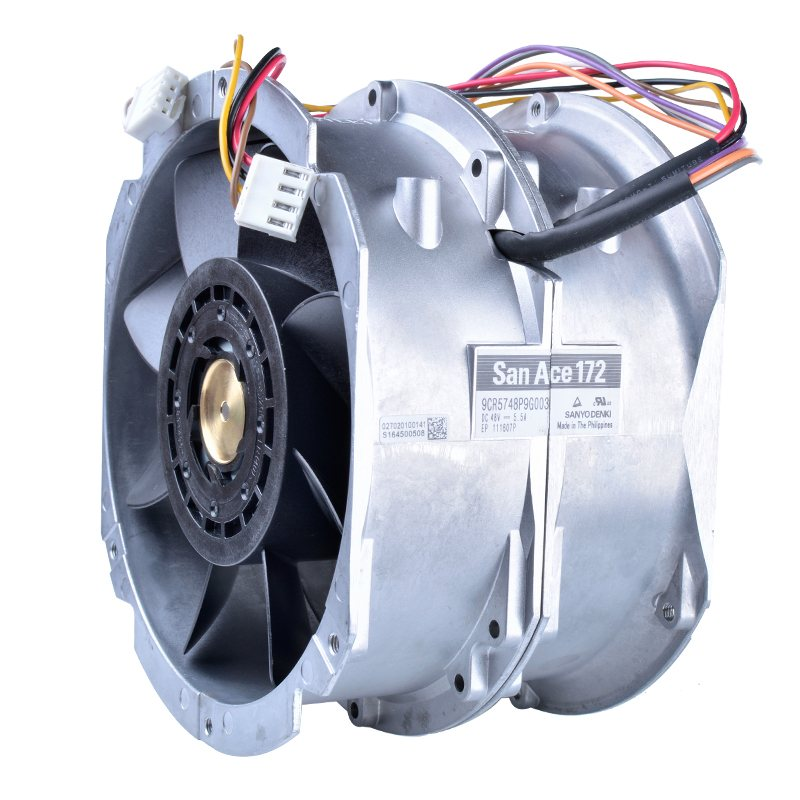 Sanyo 9CR5748P9G003 48V 5.5A 172x150x102 Ball Bearing Dual fan