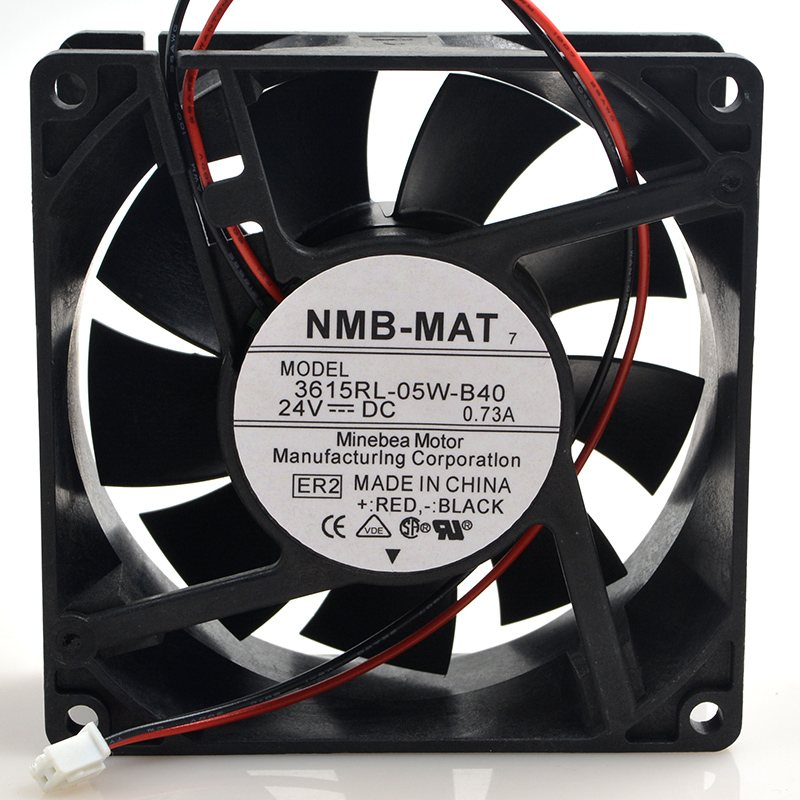 NMB 3615RL-05W-B40  9CM 24V 0.73A waterproof inverter cooling fan