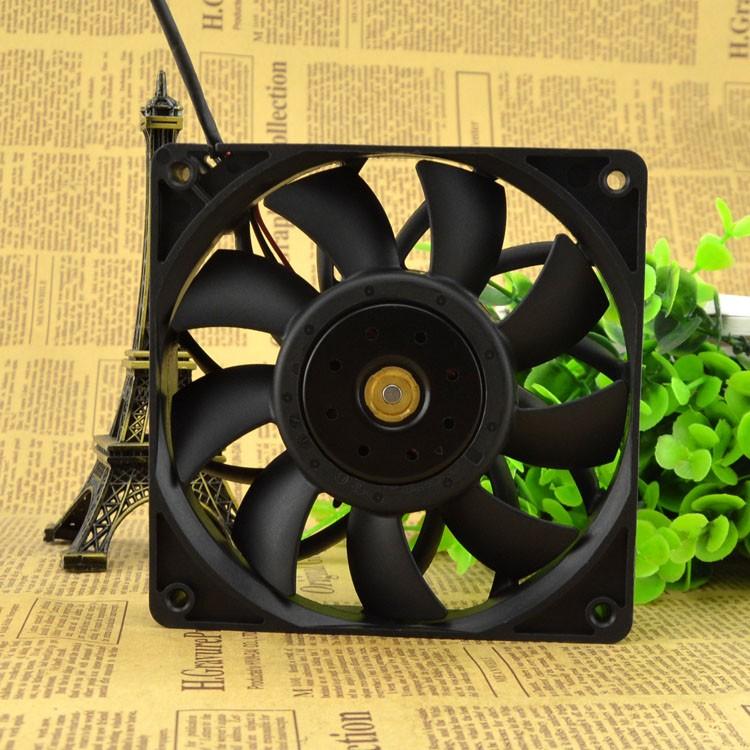 AVC DBTB1225B4S 12CM 24V 0.55A three-line high-volume fan