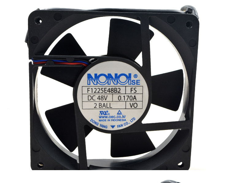 F1225E48B2 48V 0.17A 12CM industrial power supply cooling fan