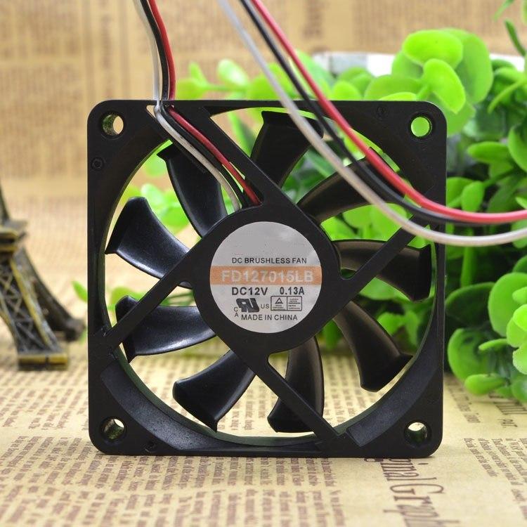Y.S.TECH FD127015LB 12V 0.13A silent cooling fan