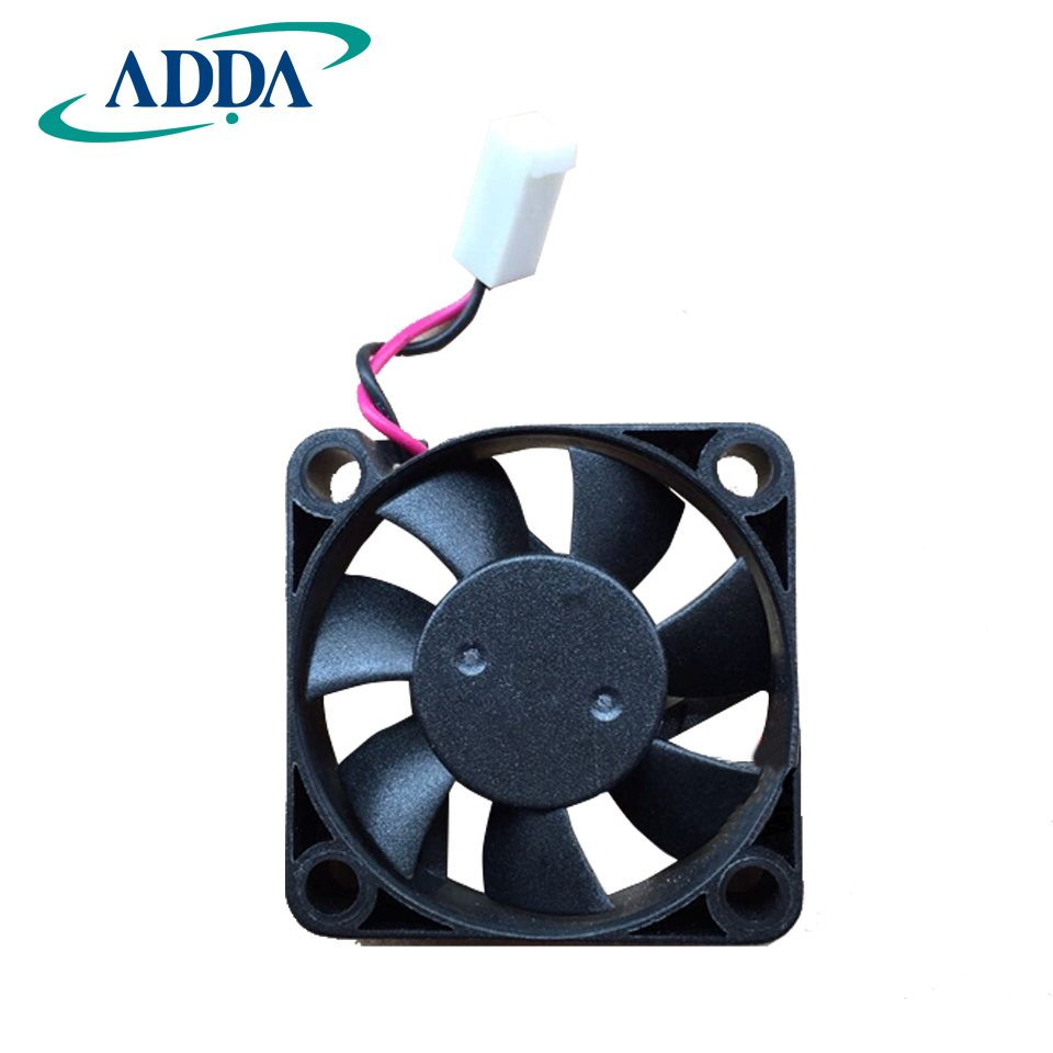 ADDA  AD0424UB-G70 DC24V 0.1A  2Wires 6800RPM Double Ball Bearing Cooling Fan