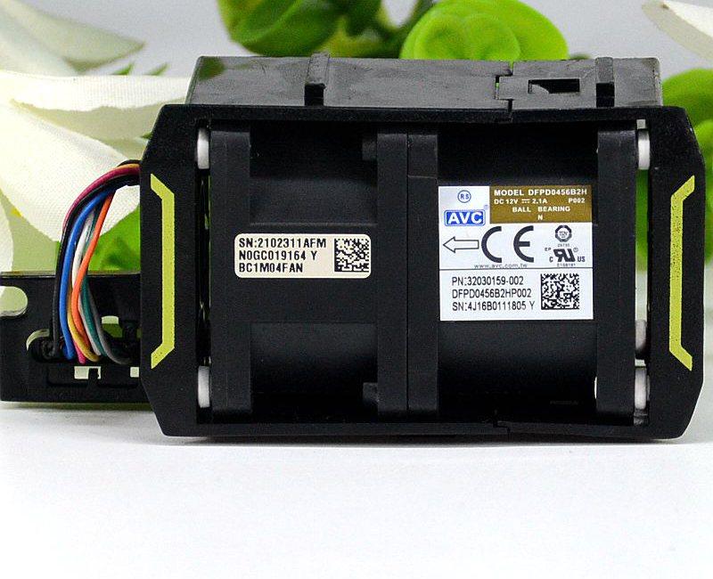 AVC DBKA0456B2H DC 12V 1.75A  server heat dissipation cooling fan