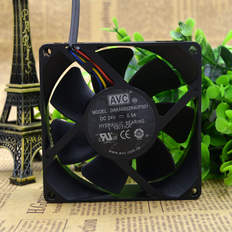AVC DAKA0932R4UP001 24V 0.5A 9CM Hydraulic Inverter Fan