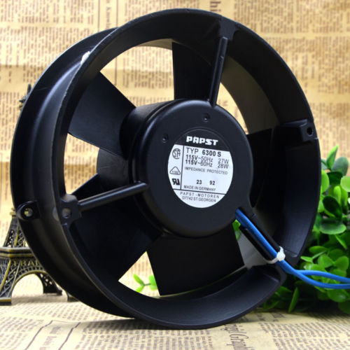 EBM PAPST TYP 6300S 115V 27W 17CM High Temperature Cooling Fan