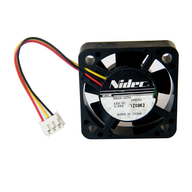 Nidec D04X-05TH DC 12V 0.06A dual ball bearing cooling fan