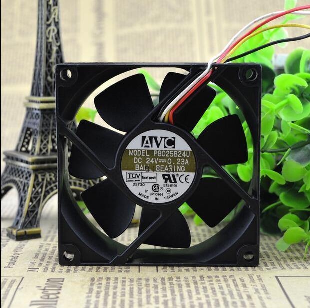 AVC P8025B24U 0.23A 24V inverter industrial cooling fan