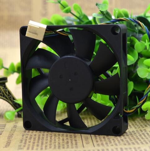 Delta EFB0812HHB 12V 80*80*15mm 0.4A 4-line PWM intelligent temperature control cooling fan