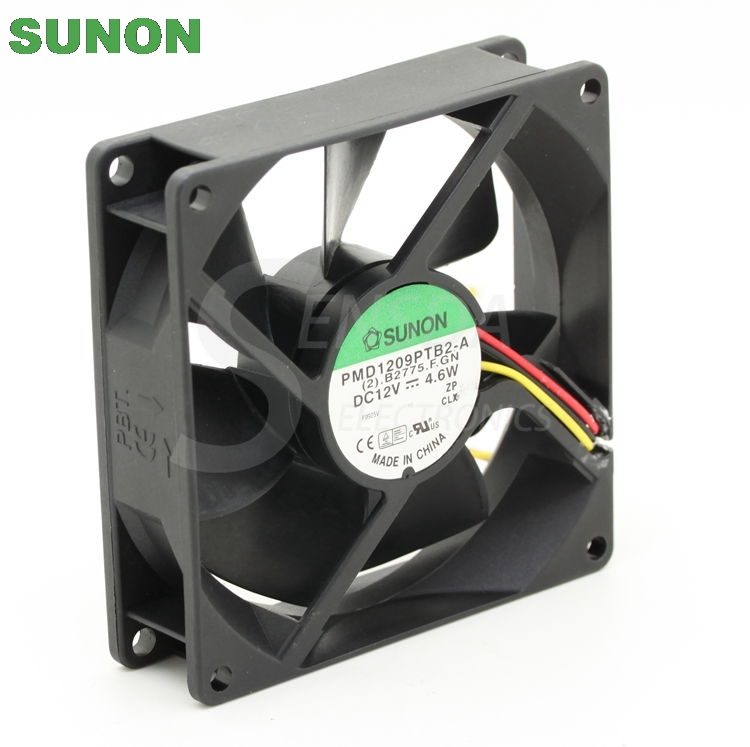 Sunon PMD19PTB2-A 90mm DC12V 4.6W server axial cooling fans