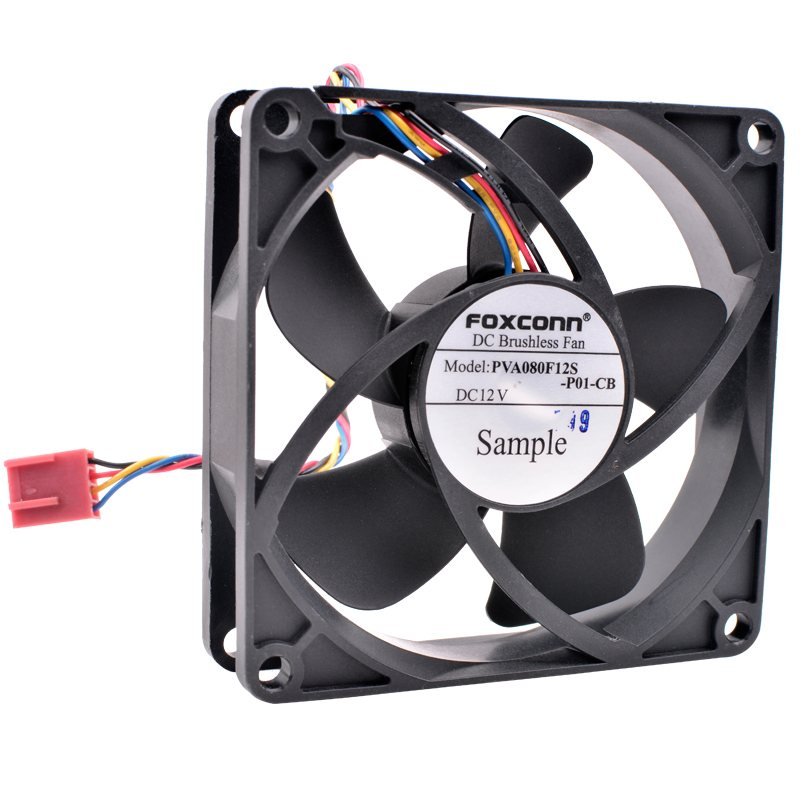 FOXCONN PVA080F12S DC12V Brushless cooling fan