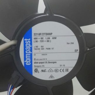 Ebmpapst 2218F/2TDHHP 48V DC 1.0A 48W cooling fan