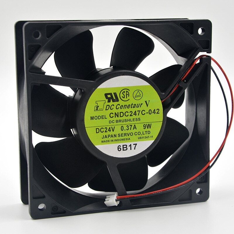 SERVO cndc247c-042 DC24V 0.37A 9W inverter axial flow cooling fan