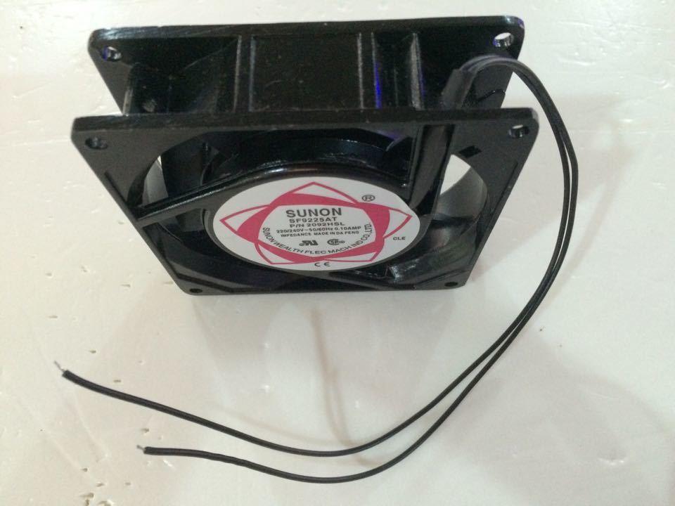 Sunon SF9225AT AC 220V 0.1A Server Inverter Cooling Fan