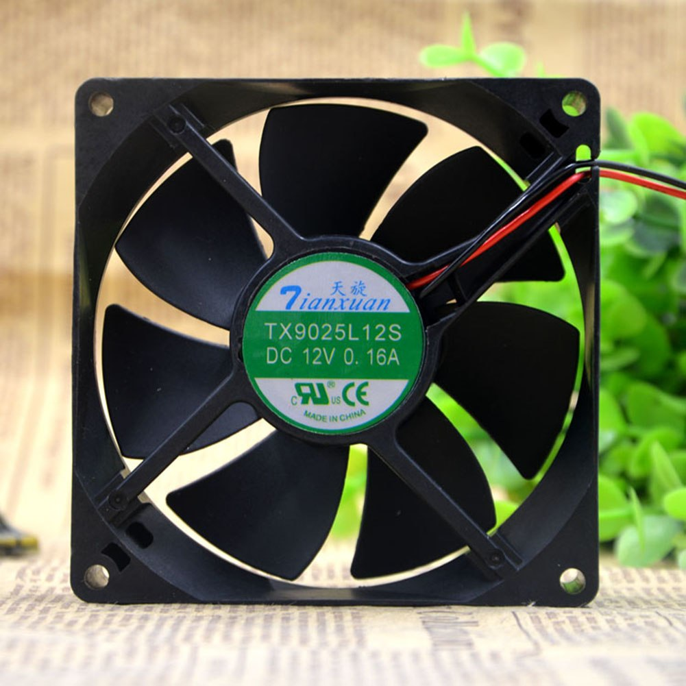 Tianxuan TX9025L12S 90*90*25mm 12V 0.16A axial cooling fan