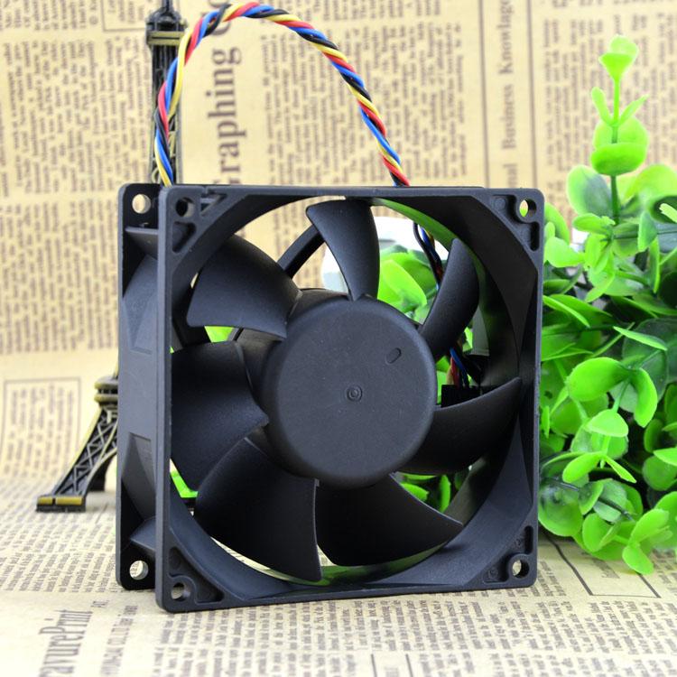 AVC DA09232B12H 12V 1.0A 9cm 4-wire temperature-controlled cooling fan