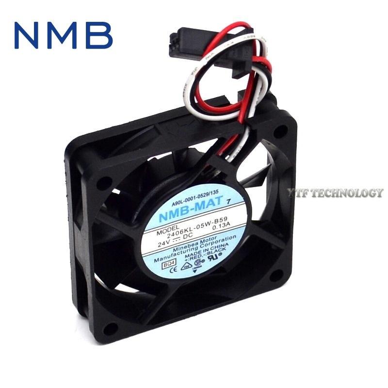 NMB A90L-0001-0511 2406KL-05W-B59 6CM 24V cooling fan