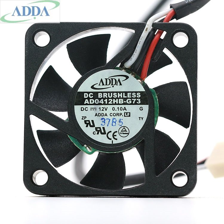 ADDA AD0412HB-G73 12V 0.10A 4CM  ultra-quiet mini cooling fan