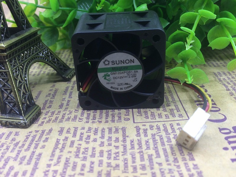 SUNON GM1204PQB1-8A DC12V 2.6W 3-wire Cooling Fan