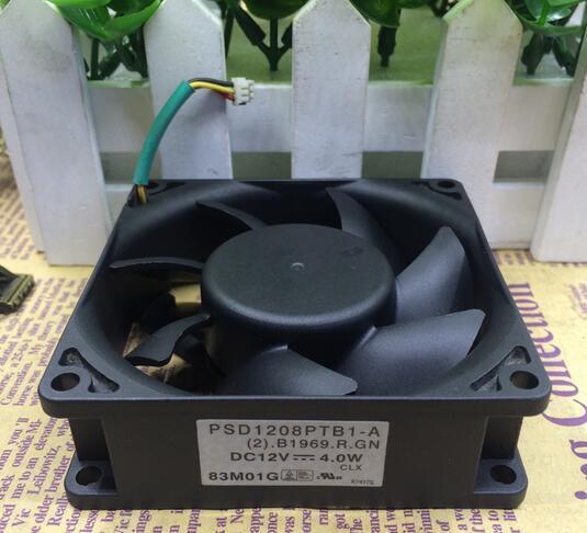 SUNON PSD18PTB1-A  DC12V 4.0W 8CM Cooling Fan