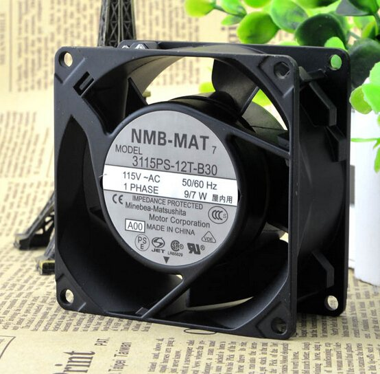 NMB 3115PS-12T-B30 115V  double ball bearing fan