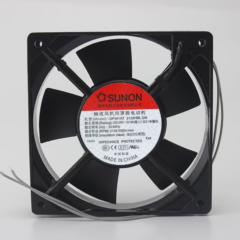 SUNON DP1AT-2122HBL.GN  12CM 2V thick double ball cooling fan