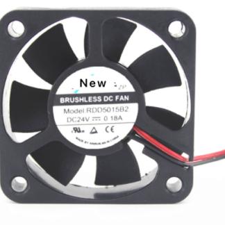 Emacro XFAN RDD5015B2 DC24V 0.18A 2-wire  Server Cooling Fan