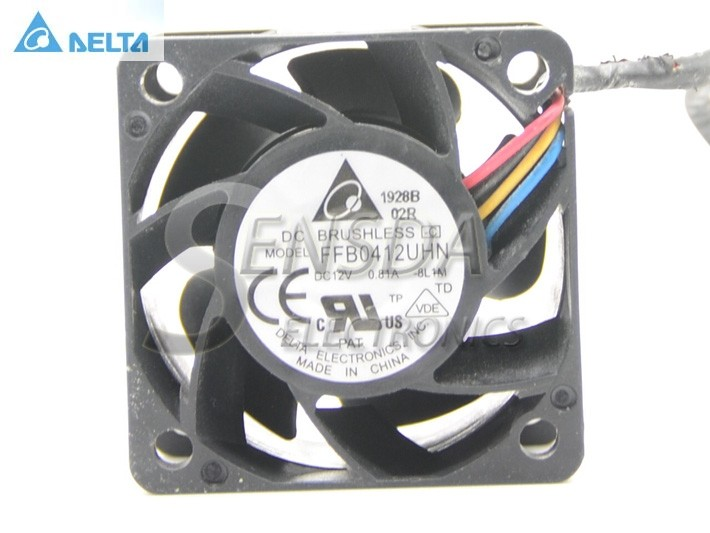 Delta FFB0412UHN DC12V 0.81A PWM Server Inverter Cooling fan