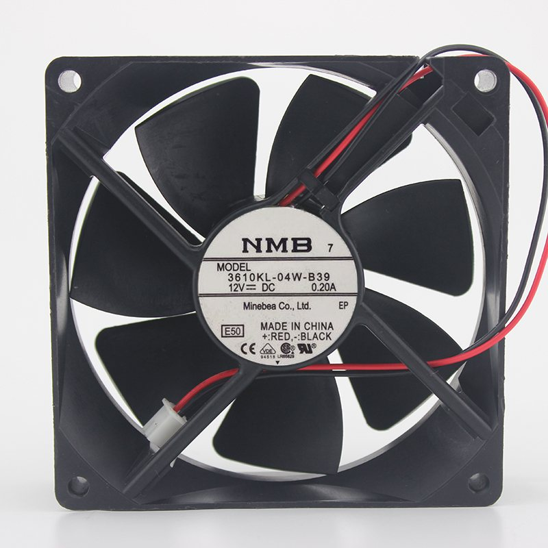 NMB-MAT 3610KL-04W-B3 12V large air volume machine cooling fan