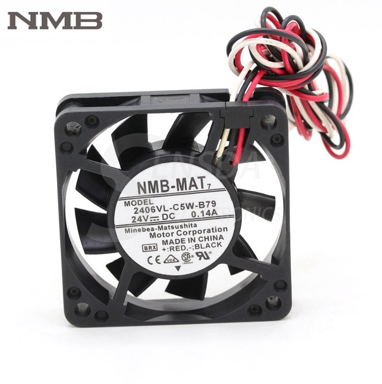 NMB 2406VL-C5W-B79 6015 60mm  DC 24V 0.14A cooling fan