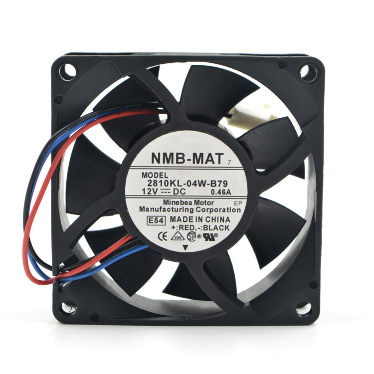 NMB 2810KL-04W-B79 DC12V 0.46A Server Inverter PC Case Cooling fan