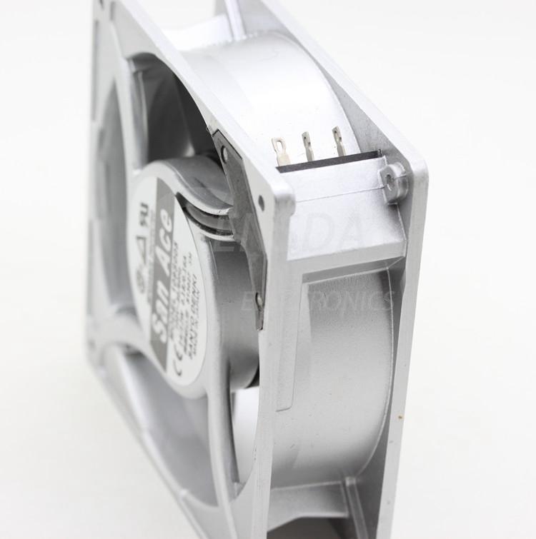 SANYO 109S005 100V 0.18/0.16A aluminum frame cooling fan