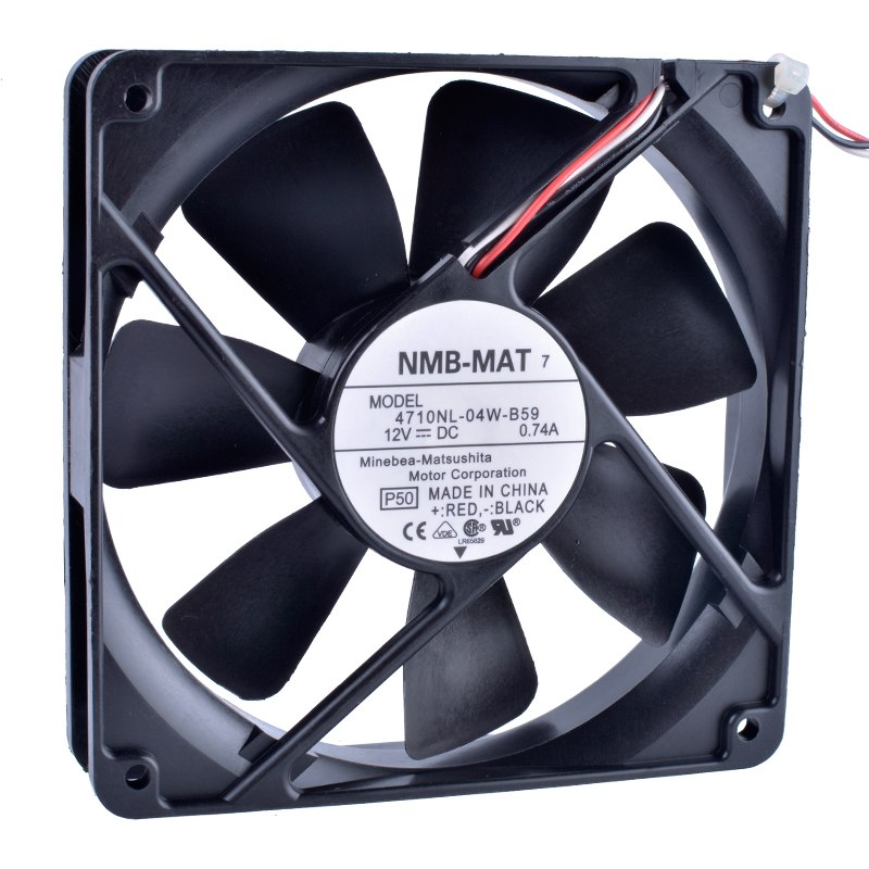 NMB-MAT7 4710NL-04W-B59 12cm 1mm 12V 0.74A  large air volume cooling fan