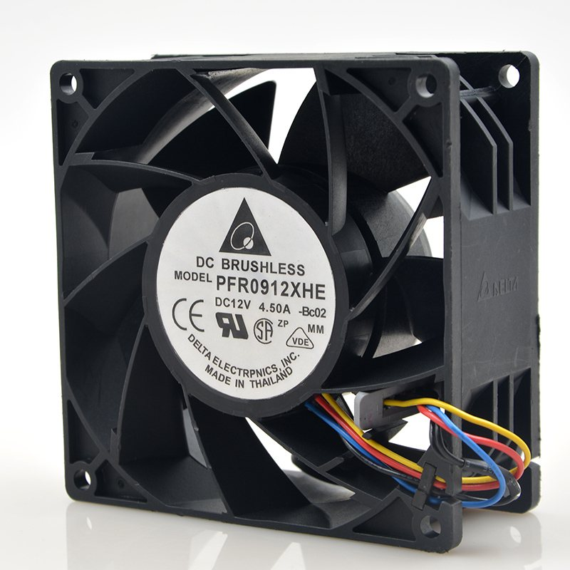 Delta PFR0912XHE 9CM 90mm 4.5A 90*90*38mm DC 12V Server Extensions machine cooling fan