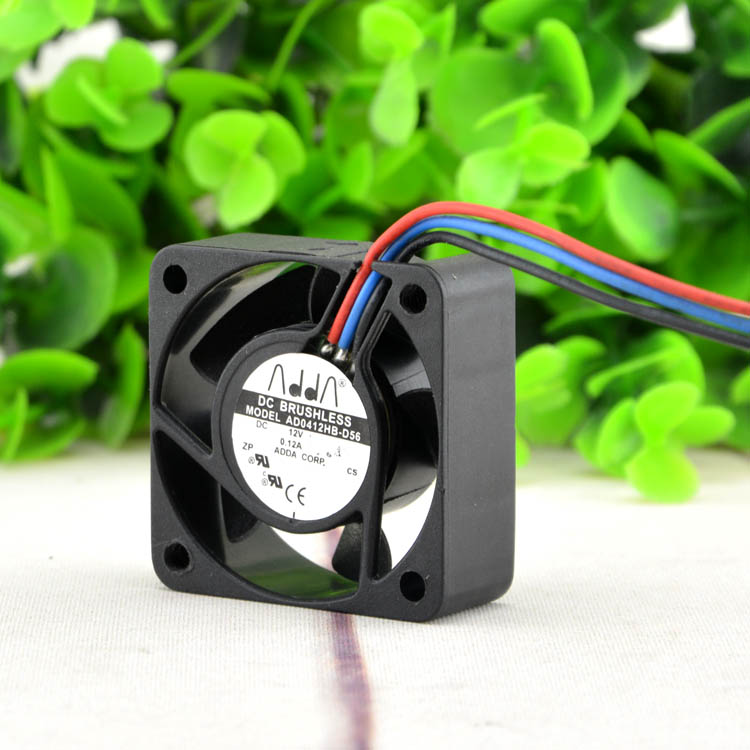 ADDA AD0412HB-D56 DC12V 0.12A 3-wire cooling fan
