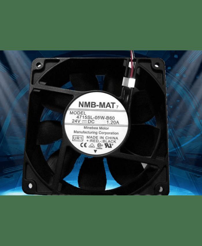 NMB-MAT 4715SL-05W-B60 DC24V 1.2A cooling fan