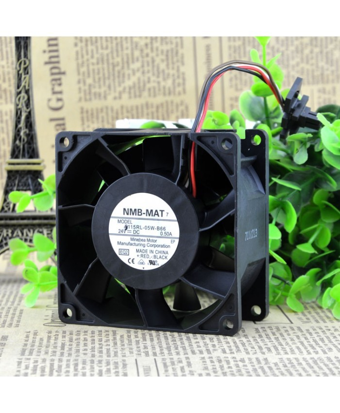 NMB-MAT 3115RL-05W-B66 DC24V 0.50A control speed fan