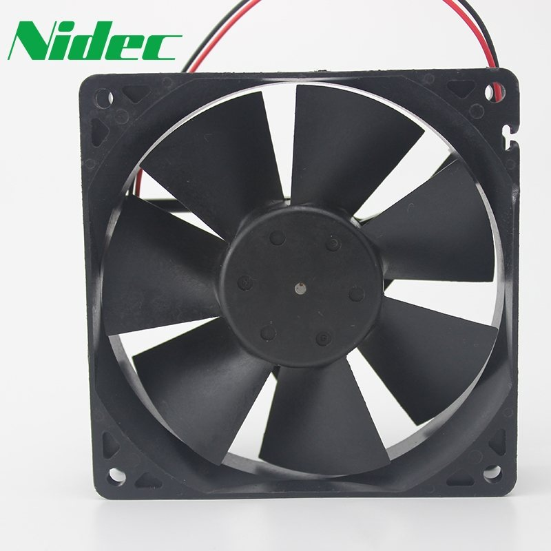 Nidec D09R-12TU 01 12V 0.2A computer chassis cooling fan