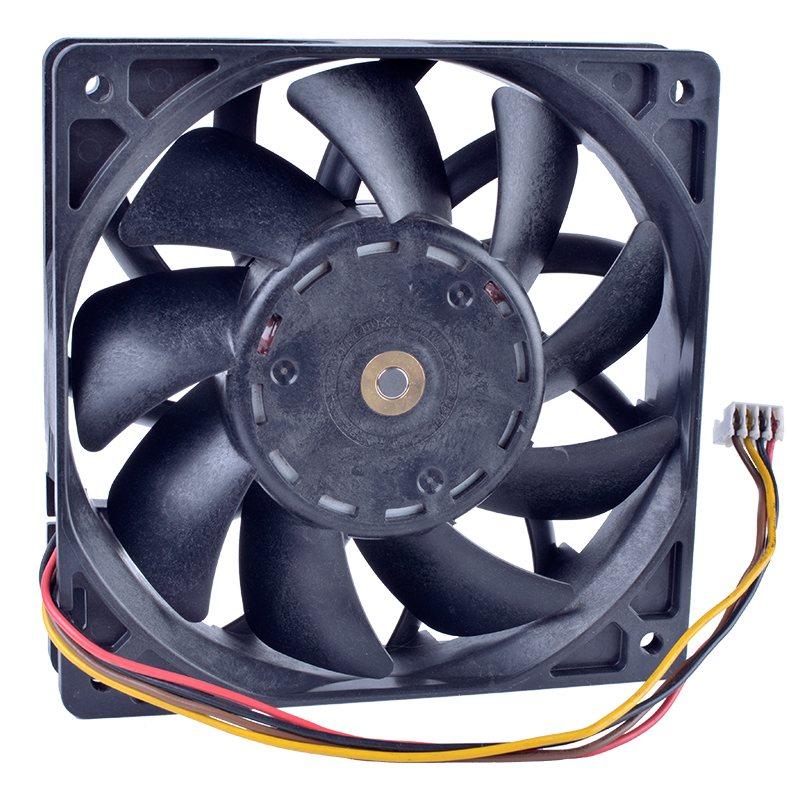 Sanyo 9GV1248P4J051 DC48V 0.50A 4-wire double ball bearing server fan