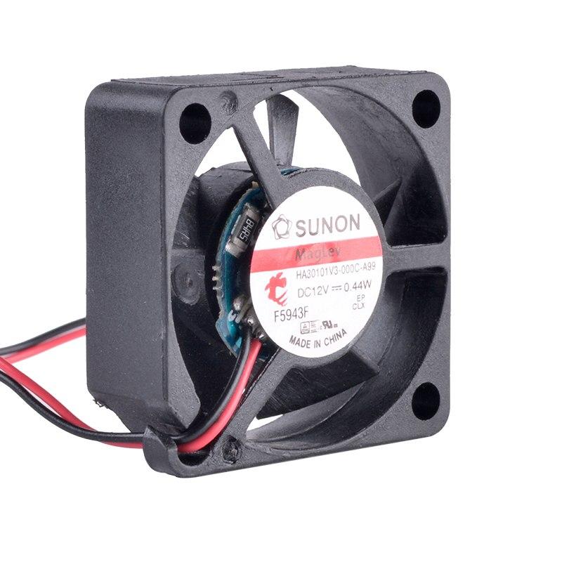 SUNON HA30101V3-000C-A99 12V 0.44W miniature cooling fan