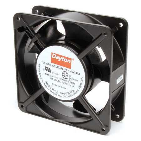 DAYTON 4WT47 115VAC 4-11/16″ Square Axial Cooling Fan