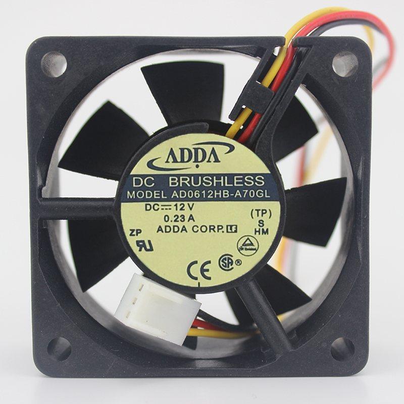 ADDA AD0612HB-A70GL 6CM 12V 0.23A cooling fan