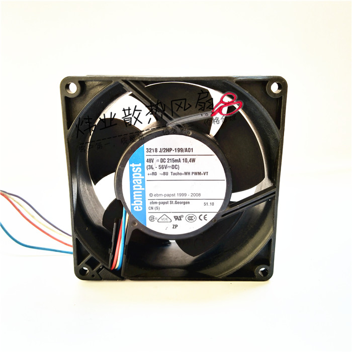 ebmpapst 3218J/2HP-199/A01  48V 10.4W 4wire cooling fan