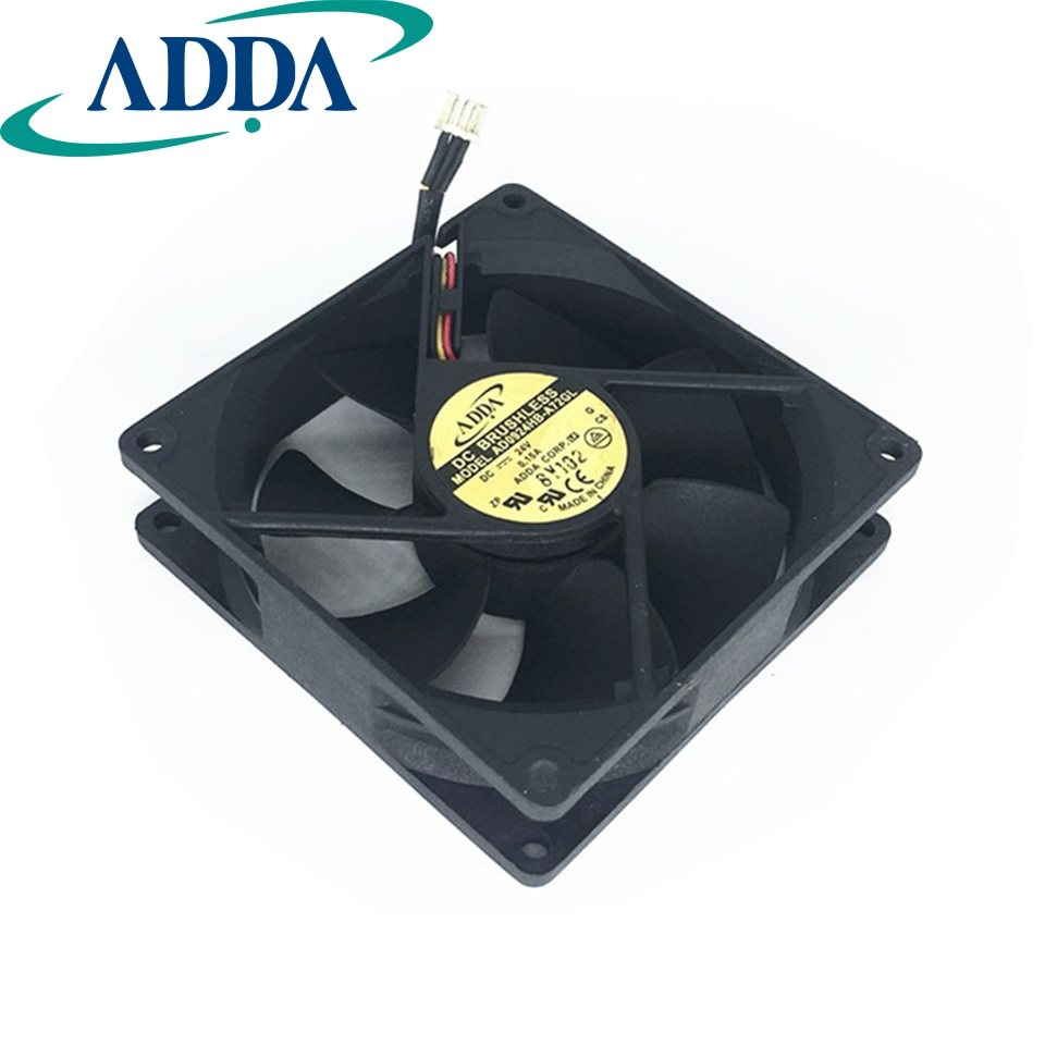 ADDA AD0924HB-A72GL 24V 0.15A server inverter computer case cooling fan
