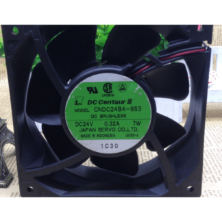 SERVO CNDC24B4-953 24V 0.32A 2Wire UPS  Cooling Fan