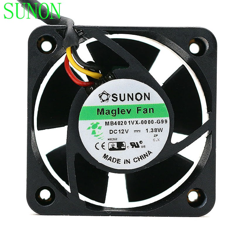 SUNON MB401VX-0000-G99  DC12V 1.38W axial cooling fan