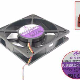 Bi-Sonic BP1202548M DC48V 0.13A 3-wire Server Cooling Fan