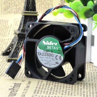 Nidec TA225DC B35198-35 12V 0.14A PWM control 4 line chassis fan