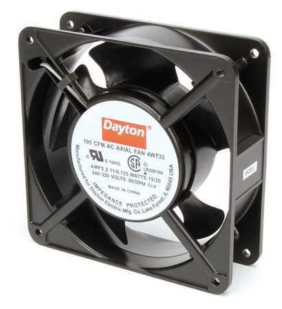 DAYTON 4WT33 230VAC 4-11/16″ Square Axial cooling Fan