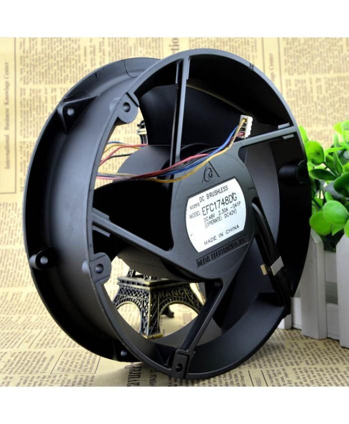 DELTA EFC1748DG  48V 2.30A violent cooling fan